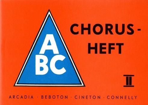 ABC Chorusheft 2: Melodiestimme mit Texten und Akkorden