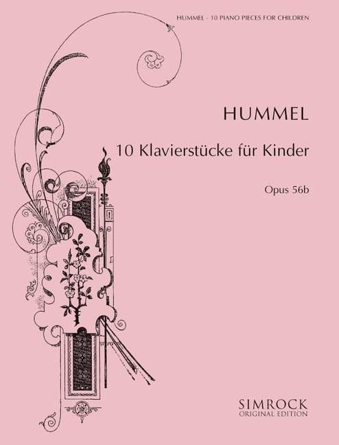 10 Klavierstücke für Kinder opus.56b