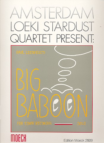 Big Baboon: for tenor recorder solo