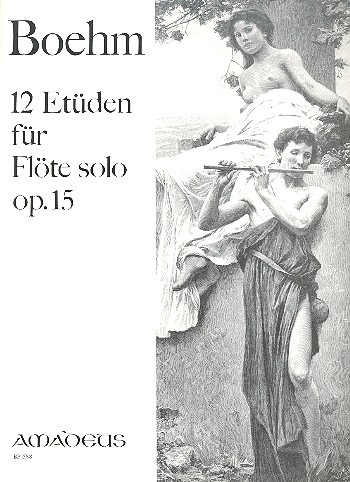 12 Etüden opus.15: für Flöte solo