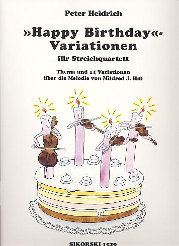 Heidrich, Peter - Happy-Birthday-Variationen :