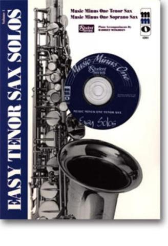 MUSIC MINUS ONE TENOR SAX: EASY TENOR SAX SOLOS VOL. 1