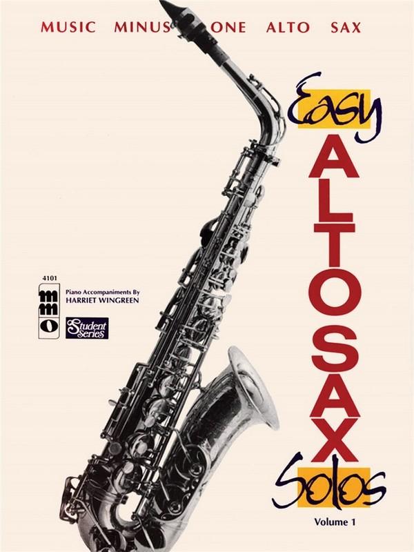 Music minus one alto sax: easy alto sax solos vol. 1