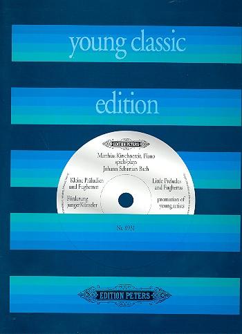 Bach, Johann Sebastian - Kleine Präludien und Fughetten (+CD) :