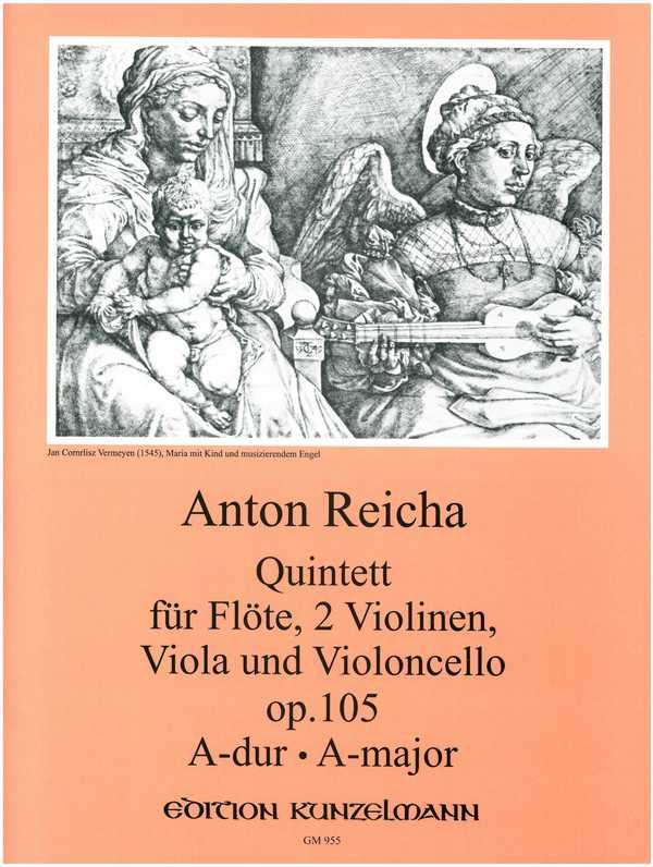 Reicha, Anton (Antoine) Joseph - Quintett A-Dur op.105 :