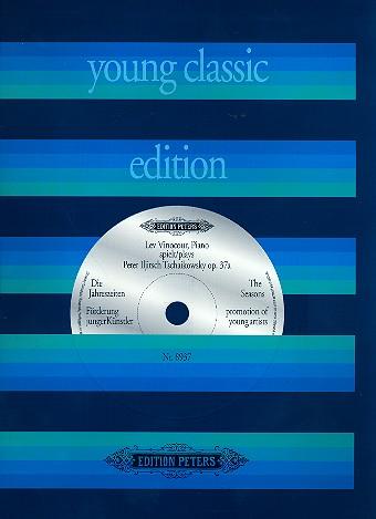 Tschaikowsky, Peter Iljitsch - Die Jahreszeiten op.37a  (+CD) :