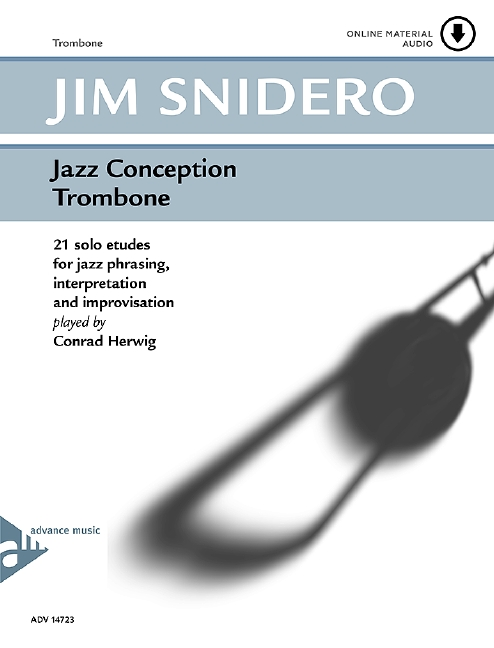 Jazz Conception for Trombone (+CD): 21 solo etudes for jazz phrasing