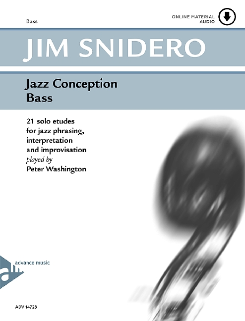 Jazz Conception for Bass: 21 solo etudes for jazz phrasing, inter-