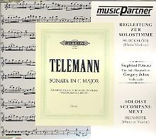 Telemann, Georg Philipp - Sonate C-Dur für Blockflöte