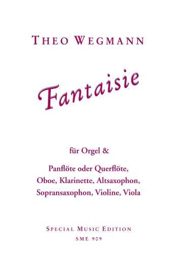 Fantaisie: für Panflöte und Orgel