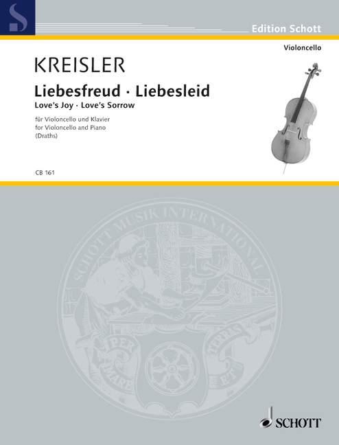 Kreisler, Fritz - Liebesfreud Liebesleid : für