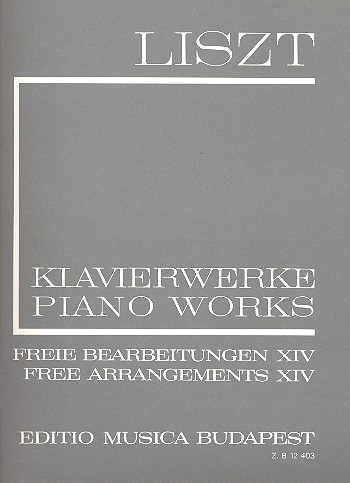 Liszt, Franz - Klavierwerke Serie 2 :