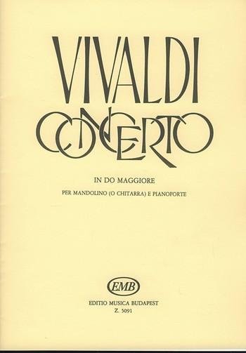 Konzert C-Dur RV425: für Mandoline (Gitarre) und Klavier