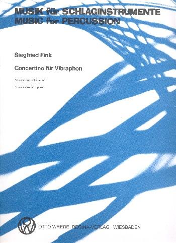 Concertino: für Vibraphon und Klavier