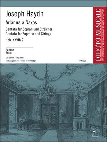 Arianna a Naxos Hob.XXVIb:2: für Sopran und Streicher