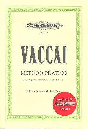 Metodo pratico di canto italiano (+CD): für mittlere Stimme und Klavier
