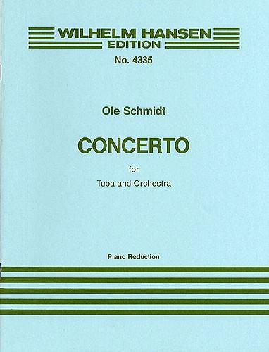 Concerto for Tuba and Orchestra: for tuba and piano