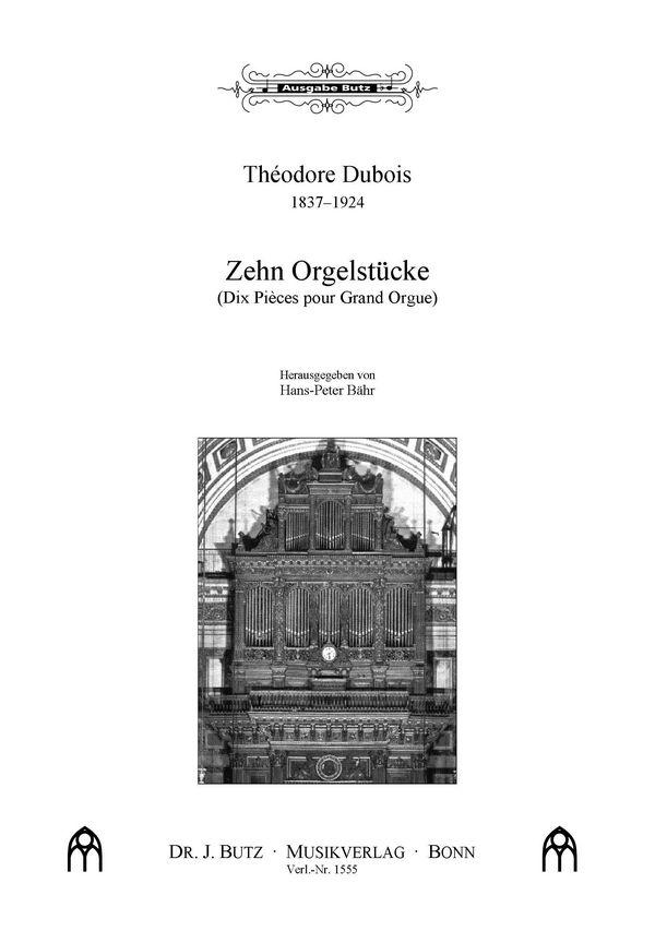 10 Orgelstücke