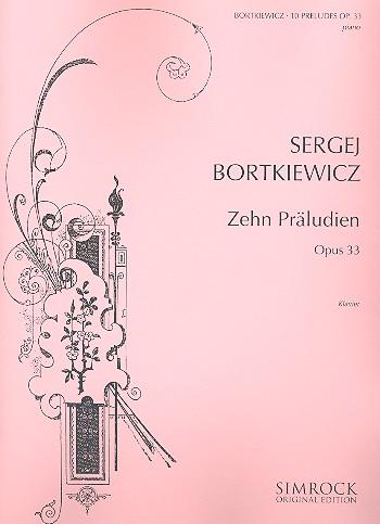 10 Präludien opus.33: für Klavier
