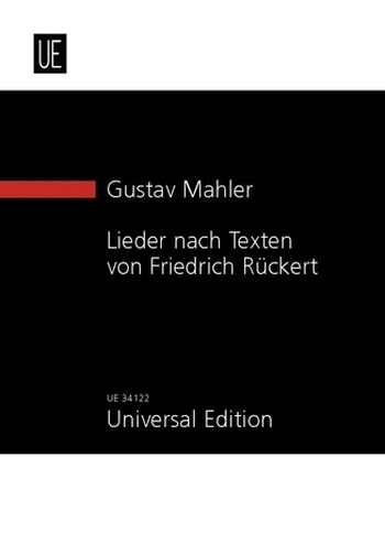 5 Lieder nach Texten von Friedrich Rückert: für Gesang und Orchester