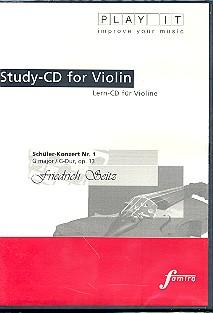 Seitz, Friedrich - Schülerkonzert G-Dur Nr.1 op.13 :