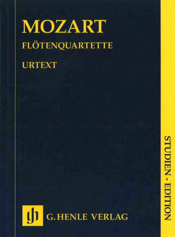 Mozart, Wolfgang Amadeus - Quartette : für Flöte und