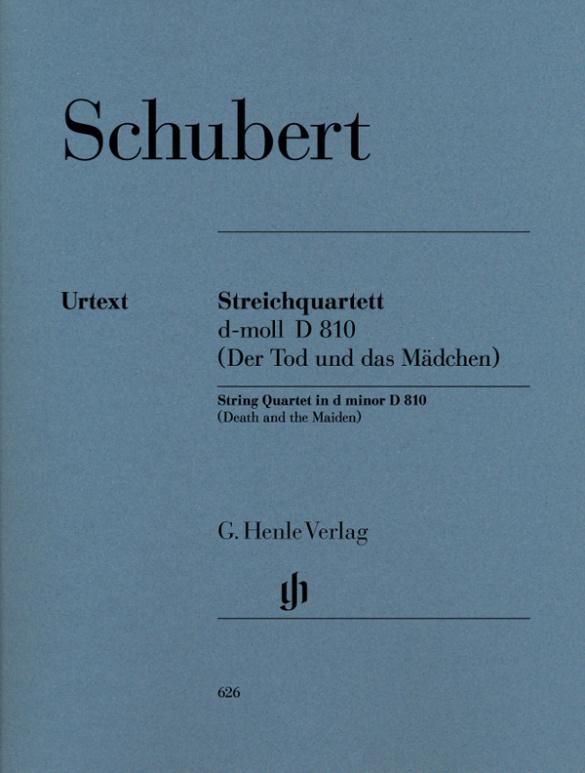Schubert, Franz - Streichquartett d-Moll D810 :