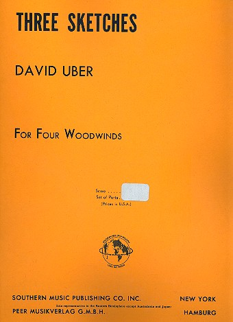 3 Sketches: for 4 woodwinds (flutes/clarinets)
