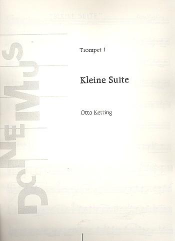 Kleine Suite: für 3 Trompeten Stimmen (1957)