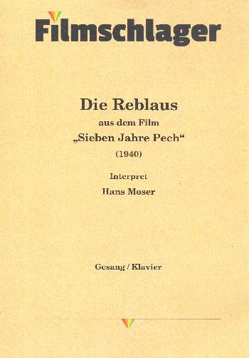 Föderl, Karl - Die Reblaus : Wienerlied für