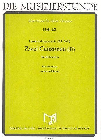 2 Canzonen Band B: für Trompete, Horn in F und Posaune