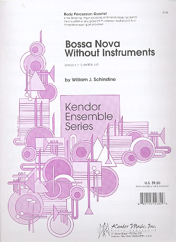 Bossa Nova without instruments: knee slapping, finger snapping (..)