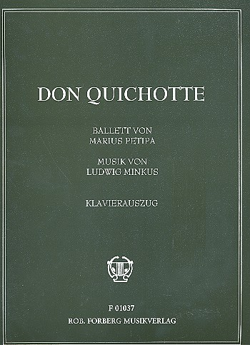 Don Quichotte: Ballett Klavierauszug