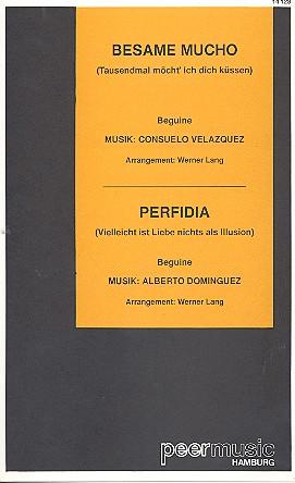 Besame mucho und Perfidia: für Salonorchester