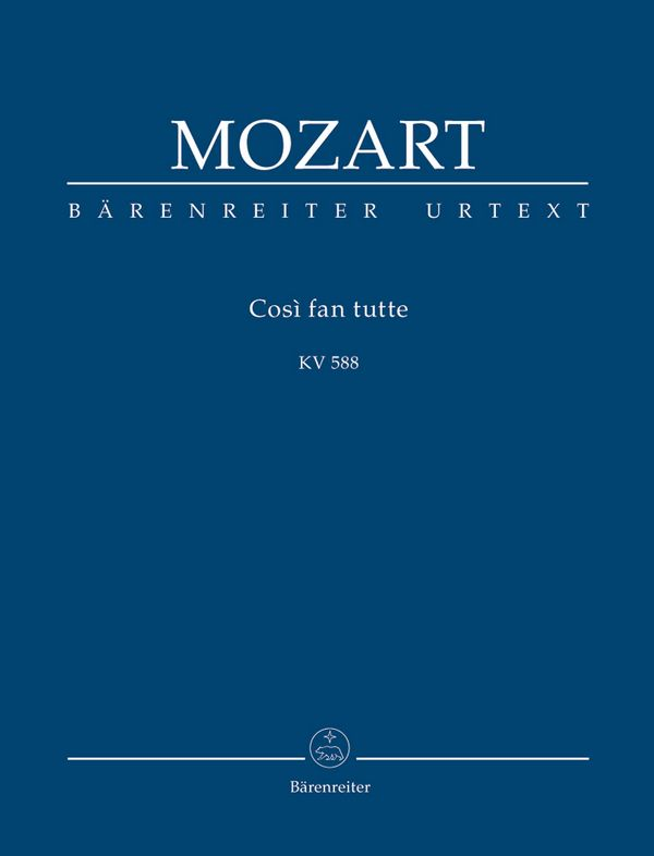 Cosí fan tutte KV588: Studienpartitur