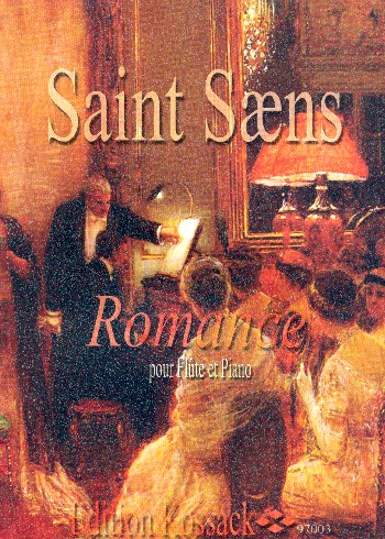Saint-Saens, Camille - Romanze op.37 : für Flöte und Klavier