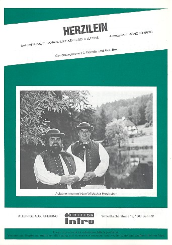 Lüdtke, Burkhardt - Herzilein : Einzelausgabe