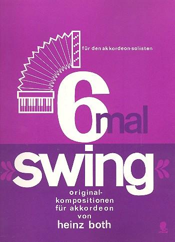 6 mal Swing: für Akkordeon