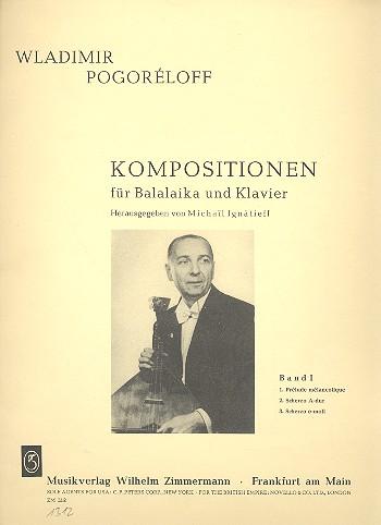 Kompositionen Band 1: für Balalaika und Klavier
