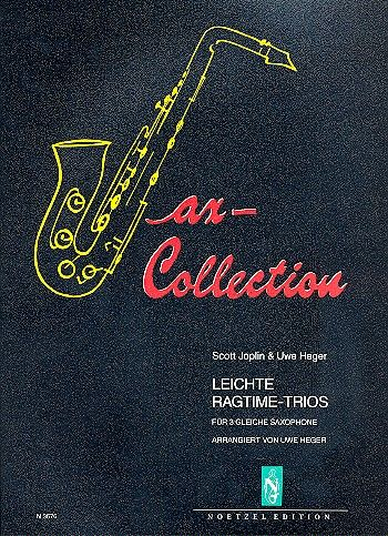 Joplin, Scott - Sax-Collection : leichte Ragtime-