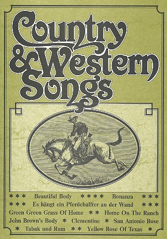 Country and Western Songs: für Gesang und Klavier