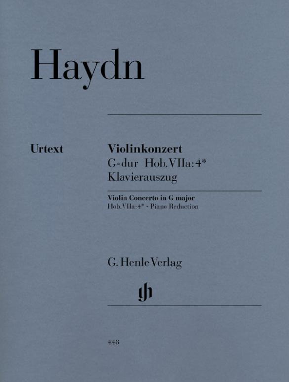 Haydn, Franz Joseph - Konzert G-Dur Hob.VIIa:4 : für