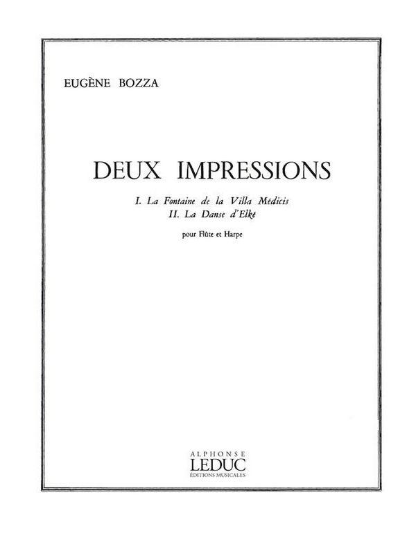 Bozza, Eugène - 2 Impressions :
