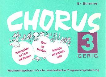 Chorus 3: B-Stimme Stimmungslieder