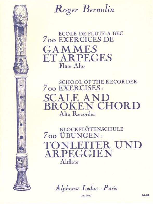 Bernolin,  Roger - Gammes et arpèges :