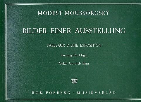 Mussorgski, Modest - Bilder einer Ausstellung :