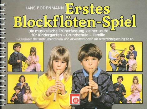 Bodenmann, Hans - Erstes Blockflötenspiel :