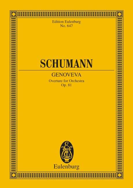 Schumann, Robert - Ouvertüre zur Oper Genoveva op.81 :