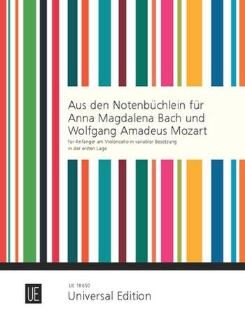Bekannte Stücke aus den Notenbüchlein für A.M. Bach und W.A. Mozart: für