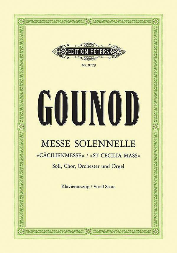 Messe solennelle: für Soli, Chor und Orchester